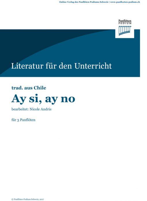 Ay si, ay no | Chilenisches Volkslied