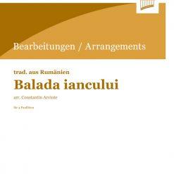 Balada iancalui | Constantin Arvinte