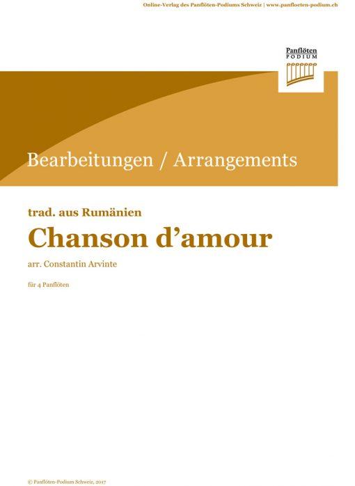 Chanson d'amour | Rum. Folklore