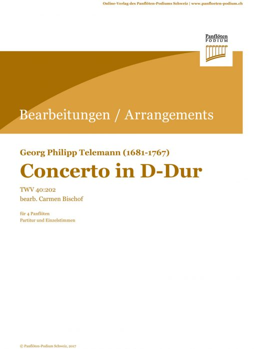 Concerto D-Dur | G.Ph. Telemann