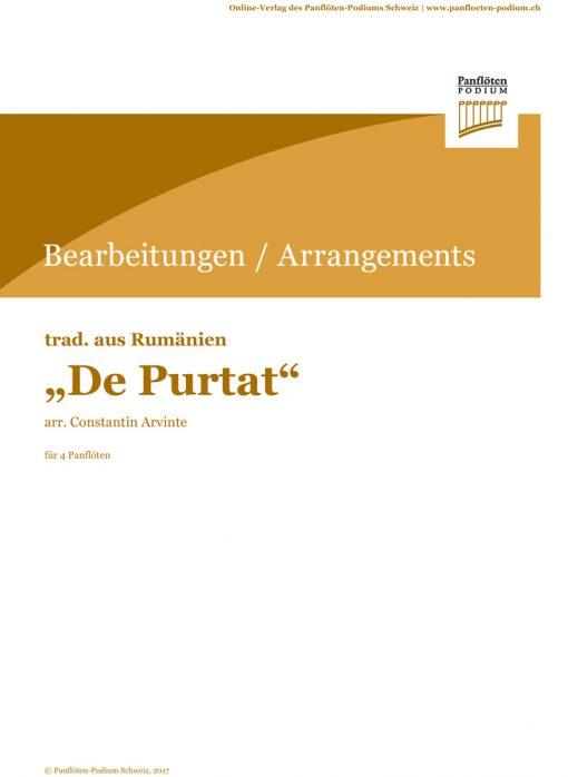 Cover von De Purtat | Rum. Folklore