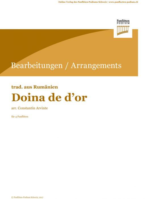 Doina de d'or | Rumänische Folklore