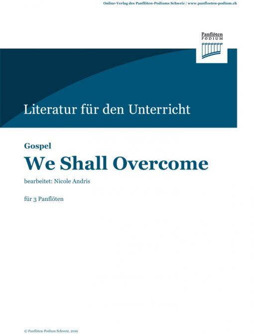 Cover We Shall Overcome | Engl. Weihnachtslied