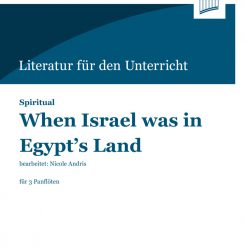 Cover When Israel was in Egypt's Land | Spiritual